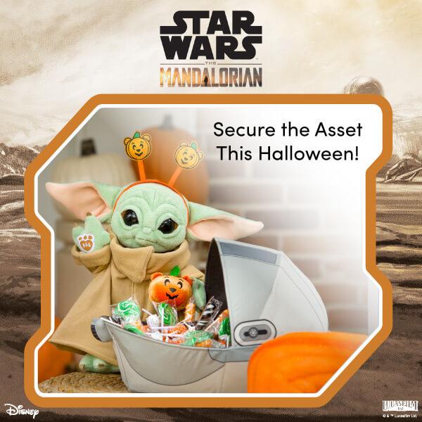 Star Wars Grogu at Halloween