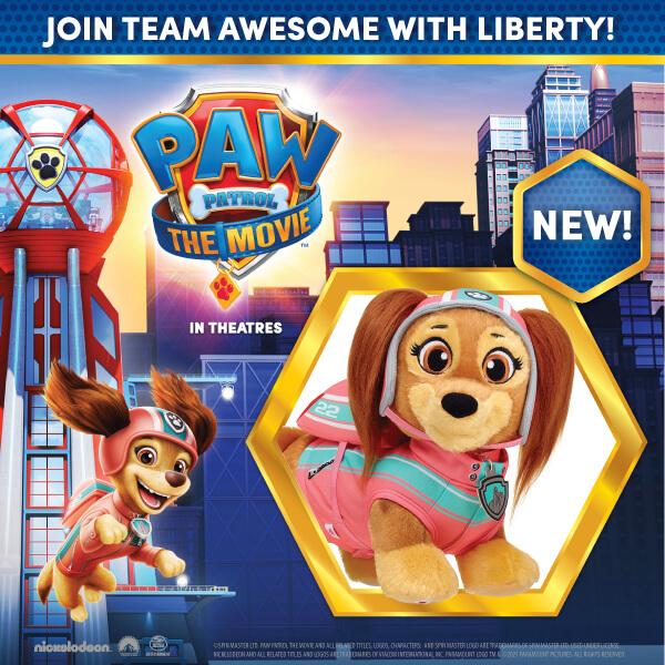 Paw Patrol - Liberty - Build-A-Bear®