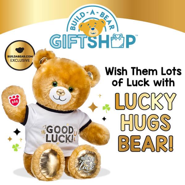 Lucky Hugs Bear