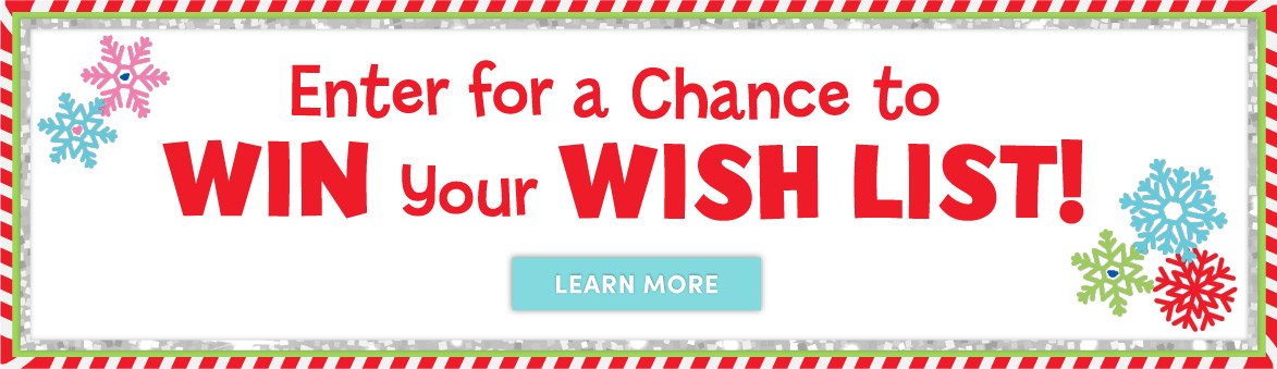 Enter for a chance to win the wish list price draw!